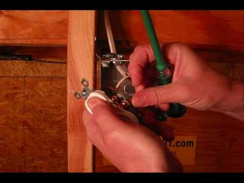Electrical Contractor working